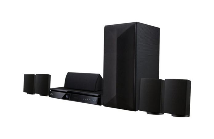 home cin ma 5 1 blu ray 3d lg lhb625. Black Bedroom Furniture Sets. Home Design Ideas