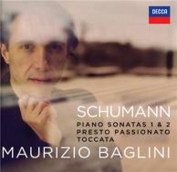 Schumann: piano sonatas 1 et 2 presto passionato toccata