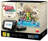 console Nintendo Wii U (32 Go) noire et the legend of Zelda Windwaker HD (à télécharger) pack (WII U)