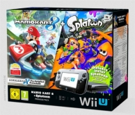 WII U pack premium, Mario kart 8 (préinstallé) et Splatoon (code de téléchargement) (WII U)