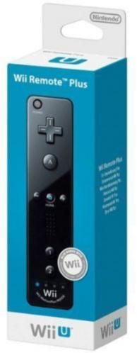 télécommande Wii U Plus - noire (WII U)