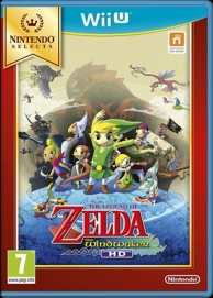 the legend of Zelda the wind waker HD - Nintendo Selects (WII U)