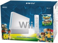 pack console Wii blanche et Inazuma eleven strikers - édition limitée (WII)