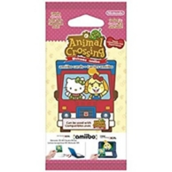 paquet de 6 cartes Animal Crossing New Leaf - welcome pack Sanrio