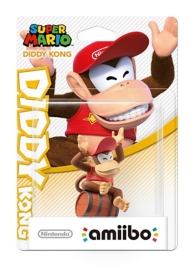 figurine Amiibo - collection Super Mario - Diddy Kong