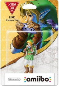 figurine Amiibo - Link (Ocarina of Time) - Les 30 ans de The Legend of Zelda