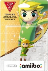figurine Amiibo - Link Cartoon (The Wind Waker) - Les 30 ans de The Legend of Zelda