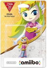 figurine Amiibo - Zelda (The Wind Waker) - Les 30 ans de The Legend of Zelda