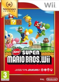 New super Mario bros. Wii - Nintendo Selects (WII)