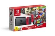 Nintendo Switch + 1 paire de Joy-Con rouges + Super Mario Odyssey (à télécharger) - Limitée (SWITCH)