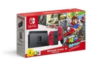 Nintendo Switch + 1 paire de Joy-Con rouges + Super Mario Odyssey (à télécharger) - Limitée (SWITCH) -
