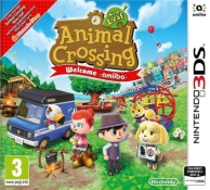 animal crossing new leaf - welcome Amiibo ! (1 carte incluse) (3DS)