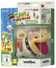 Poochy et Yoshi's Woolly World (Amiibo Poochy de laine inclus) (3DS)