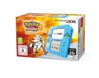 console nintendo 2DS bleue et Pokémon Soleil (préinstallé) (3DS)