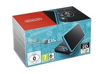 console New Nintendo 2DSXL - noire et turquoise (3DS) -