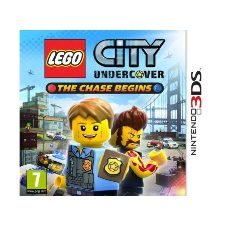 lego city undercover the chase begins 3ds. Black Bedroom Furniture Sets. Home Design Ideas