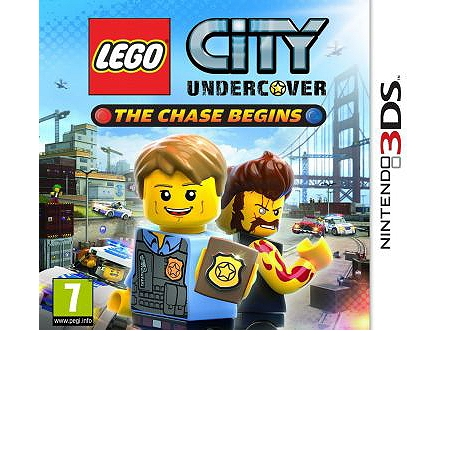 lego city undercover the chase begins 3ds action espace culturel e leclerc. Black Bedroom Furniture Sets. Home Design Ideas