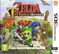 the legend of Zelda - Tri Force heroes (3DS)