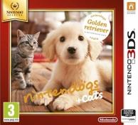 Nintendogs et cats - golden retriver et ses nouveaux amis - Nintendo Selects (3DS)