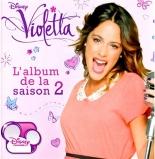l'album de la saison 2 - Violetta
