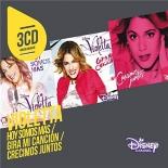 3cd originaux: violetta - hoy somos mas/gira mi cancion/crecimos juntos - Violetta