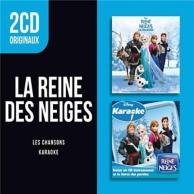 2cd originaux: la reine des neiges - les chansons / karaoké