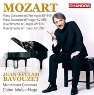concertos pour piano K.449 et 459