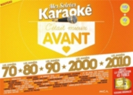 5 dvd karaoké 70 + 80 + 90 + 2000 + 2010
