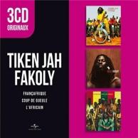 3 cd originaux - l'africain / Françafrique / coup de gueule