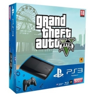 pack console playstation 3 (500Go) et GTA V (PS3)