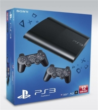 pack console playstation 3 (12Go) noire et seconde manette dualshock 3 - exclu. E.Leclerc (PS3)
