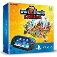pack console PSVita (wifi), InviZimals: l'alliance (à télécharger) et carte mémoire (4Go) (PS VITA)