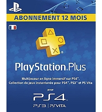 playstation plus hang card abonnement 12 mois ps4. Black Bedroom Furniture Sets. Home Design Ideas
