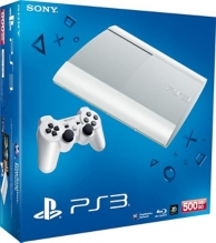 console playstation 3 (500 Go) blanche (PS3)