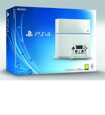 console playstation 4 500 go blanche ps4. Black Bedroom Furniture Sets. Home Design Ideas