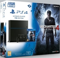 pack console Playstation 4 (1To) et uncharted 4 (PS4)