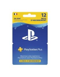 Playstation plus hang card - abonnement 12 mois (PS4) -