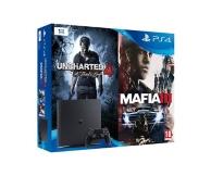 pack console Playstation 4 (1To), Uncharted 4 et Mafia 3 - Exclusivité E.Leclerc (PS4)