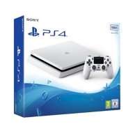 Playstation 4 Slim (500Go) - Glacier White (PS4)