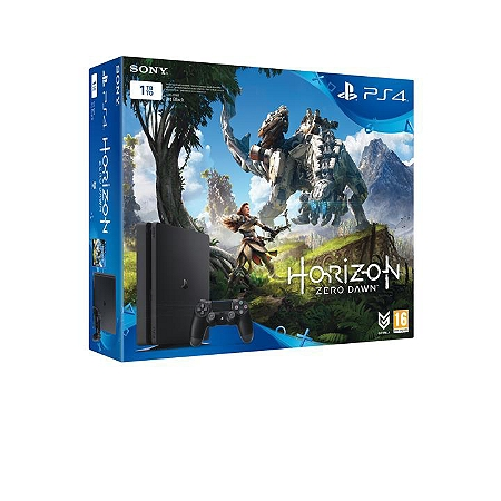 pack console playstation 4 1to horizon zero dawn playstation plus abonnement 3 mois ps4. Black Bedroom Furniture Sets. Home Design Ideas