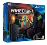 Pack PS4 SLIM 500Gb E Noire + Minecraft (à télécharger) (PS4) - Sony Playstation 4