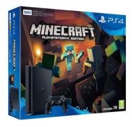 Pack PS4 SLIM 500Gb E Noire + Minecraft (à télécharger) (PS4)