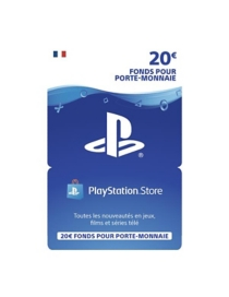 carte Playstation Network 20 euros (PS4) -