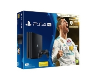 pack console Playstation 4 Pro (1To), FIFA 18 et PS+ (14 jours offerts) - édition deluxe (PS4)