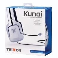 micro-casque Kunai filaire pour PS3/PS Vita - blanc (PS3)