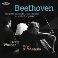 sonates et variations pour violoncelle et piano, intégrale