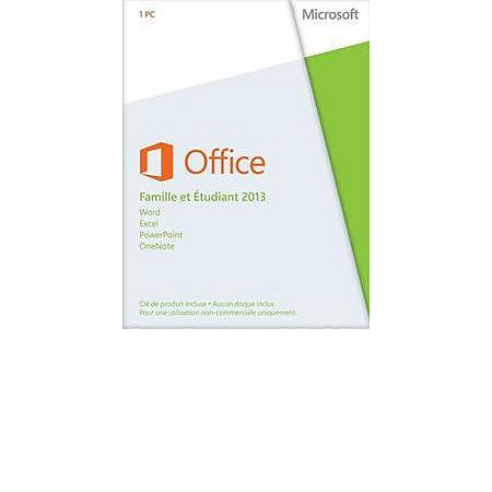 Office 2013 dition famille tudiant pc 1 license bureautique espace culturel e leclerc - Office famille et etudiant 2013 1 pc ...