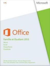 Office 2013 - édition famille et étudiant (PC) (1 license )