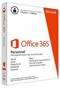 Office 365 - édition personnal SKU2 (PC-MAC)