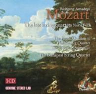 les derniers quatuors à cordes n°14-23